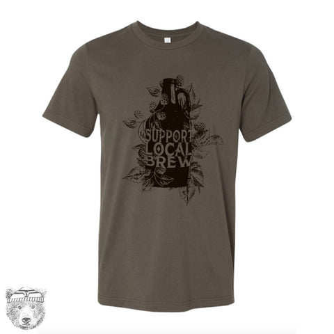 Local BREW Growler Men's T-shirt - Zen Threads