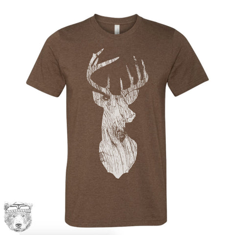 Mens DEER T Shirt s m l xl xxl (+ Color Options) - Zen Threads