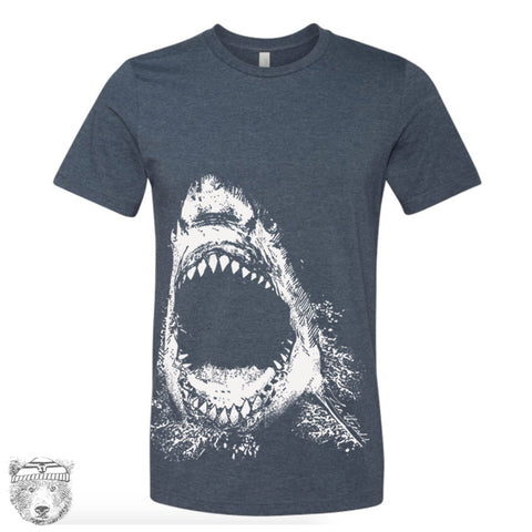 Mens SHARK T Shirt  s m l xl xxl (+ Color Options) - Zen Threads