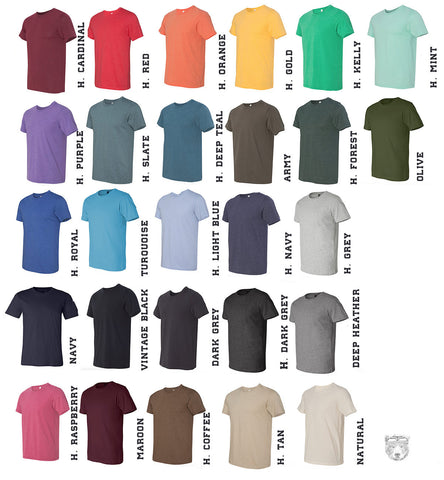 Mens FOXHOLE T Shirt   s m l xl xxl (+ Color Options) - Zen Threads