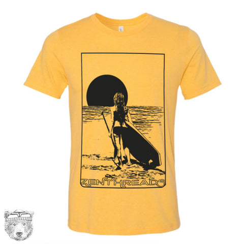 Mens PADDLE BOARD Vintage Soft Unisex T Shirt [ xs s m l xl xxl xxxl ]