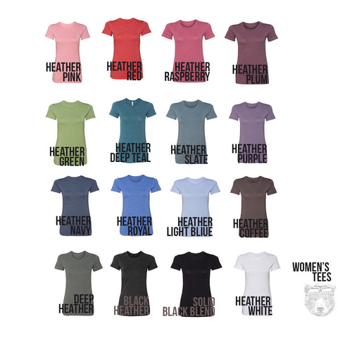 Women's QUEEN T Shirt hand screen printed s m l xl xxl (+ Colors Available)