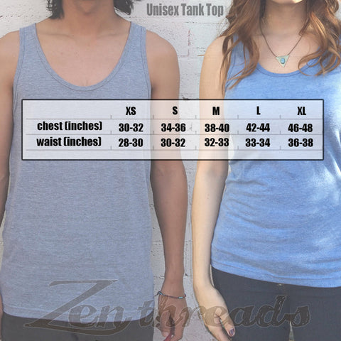 Unisex East Coast PIZZA Mens Tank Top -hand screen printed xs s m l xl xxl (+ Colors) workout - Zen Threads