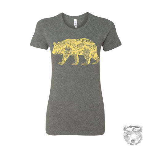 Women's California BEAR T-Shirt