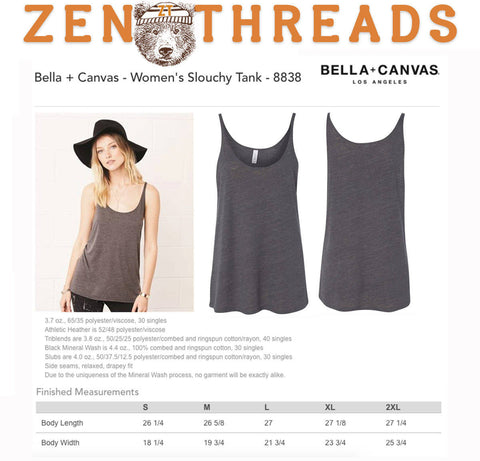 Women's SAVE THE BEES Slouchy Tank Top