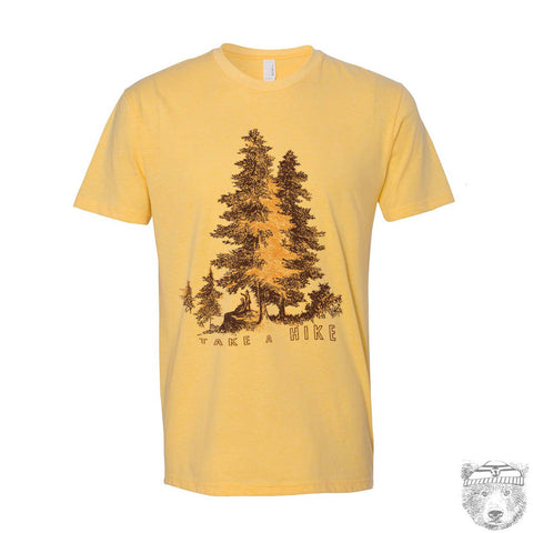 Mens TAKE A HIKE T-Shirt s m l xl xxl (+ Color Options) custom - Zen Threads