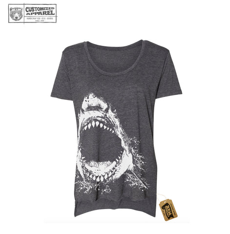 Shark Women's Festival Scoop Neck Tee