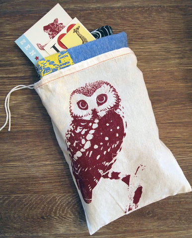 "GIFT BAG 8x11"" Urban OWL - Zen Threads"
