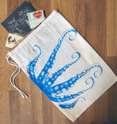 "GIFT BAG / 8x11"" - OCTOPUS Tentacles - Zen Threads"