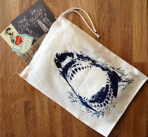 "GIFT BAG - 8 x11"" SHARK - Zen Threads"