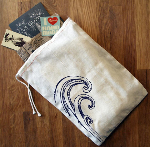 "GIFT BAG / 8x11"" WAVE - Zen Threads"