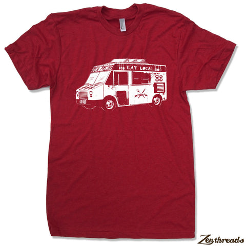 Mens FOOD TRUCK T Shirt s m l xl xxl (+ Color Options)
