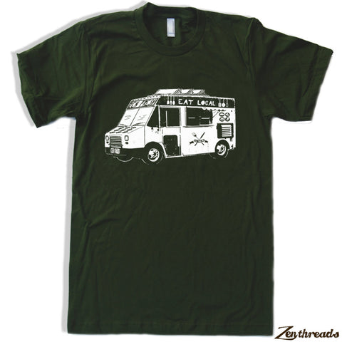 Mens FOOD TRUCK T Shirt s m l xl xxl (+ Color Options) - Zen Threads