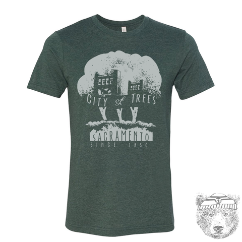 CITY OF TREES Men's T-Shirt - Zen Threads