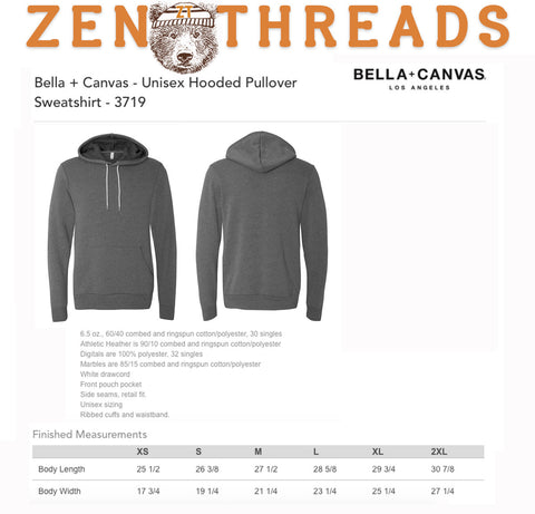 Unisex  Boxing Squirrel Pullover Hoody - Zen Threads