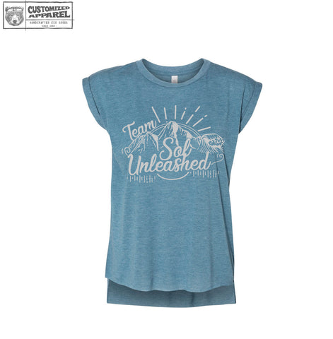 Team Sol Unleashed Rolled Sleeve Tee