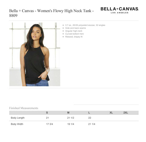 Women's SOL & SALT Flowy High Neck Tank 8809