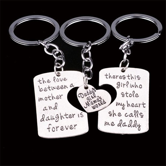 Family keychain set