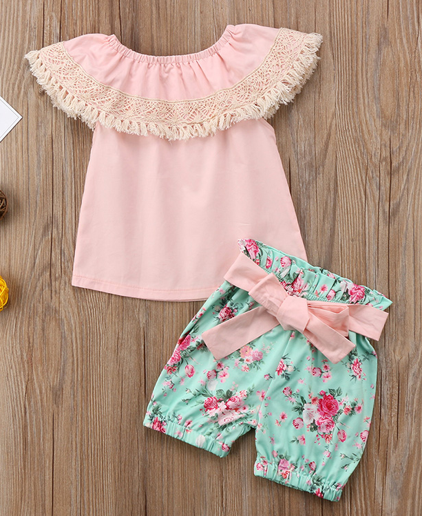 Fabulously floral set