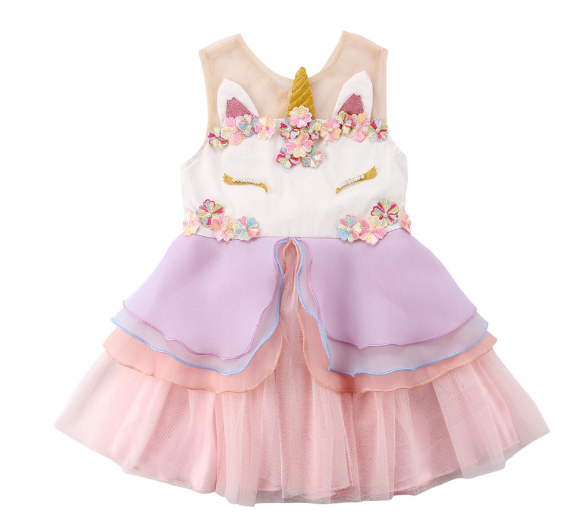 Fantasy unicorn dress