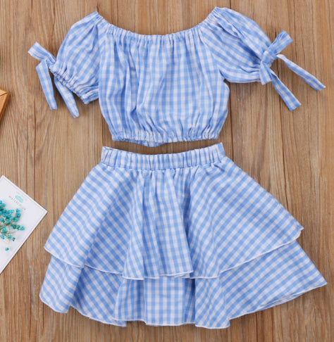 Gorgeously Gingham  set