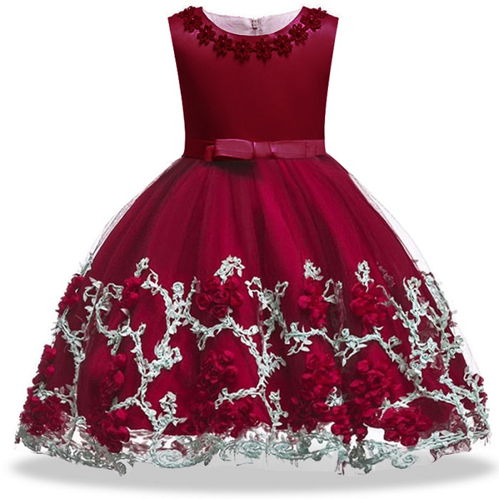 Radiantly roses gown