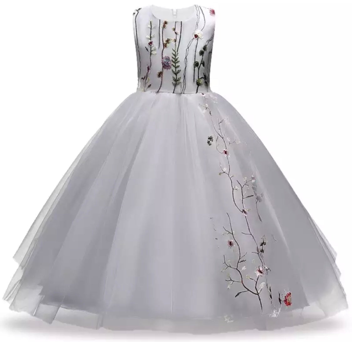 Beautiful white ball gown – My children\'s boutique