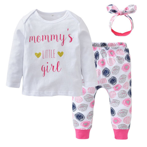 Mommy's little girl outfit