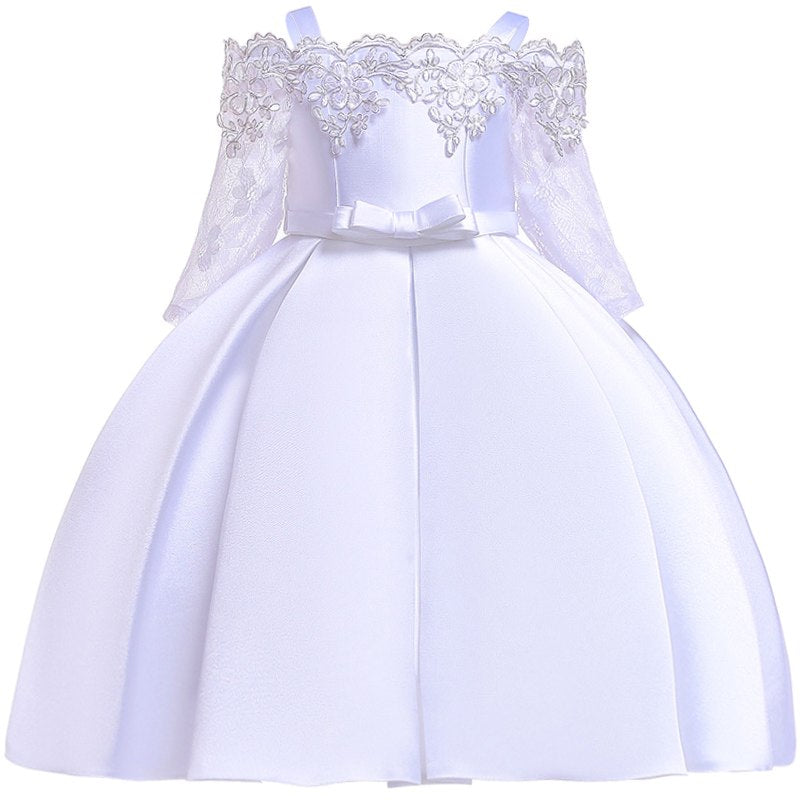 Girls dress kids princess dresses for girls anniversaire enfant princess dress baby girl toddler clothes vestidos robe fille 1