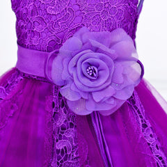 Simply sumptuous occasion gown - Amethyst