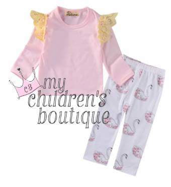 Sweetly swan set