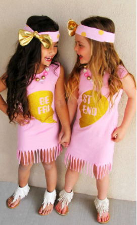 Best friend dresses (sold separately)