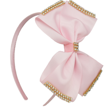 Beautiful bow headband- various colours