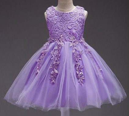 Beautifully elegant lilac gown