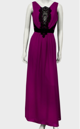 Ladies chiffon maxi dress RRP £65