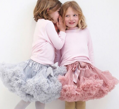 Fluffy dance skirt-various colours