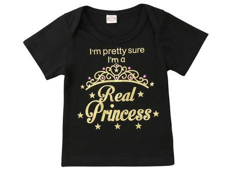 Real princess t shirt
