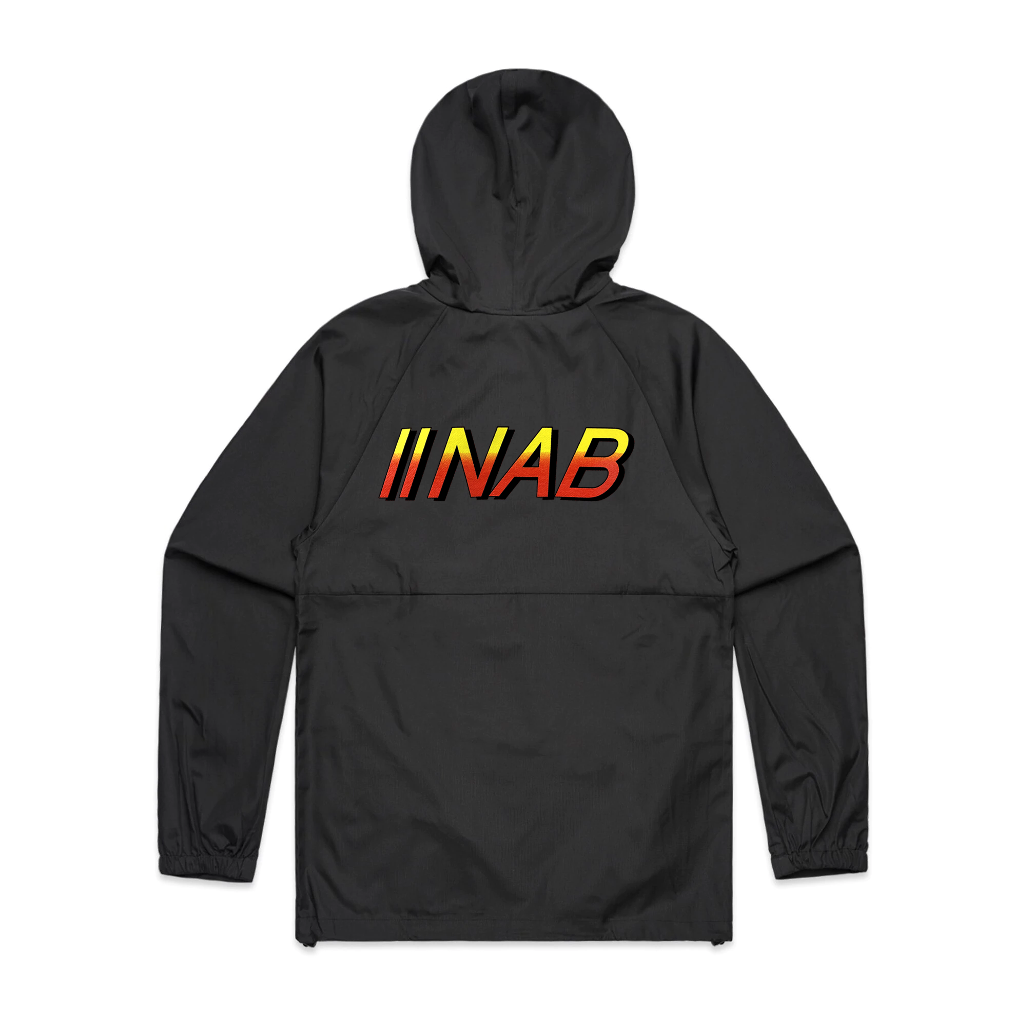 NO FAKE SWEAT WINDBREAKER 'BLACK'