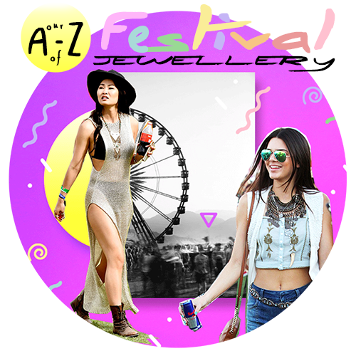 🎧✌️ A-Z of Festival Jewellery!! 🎶💋