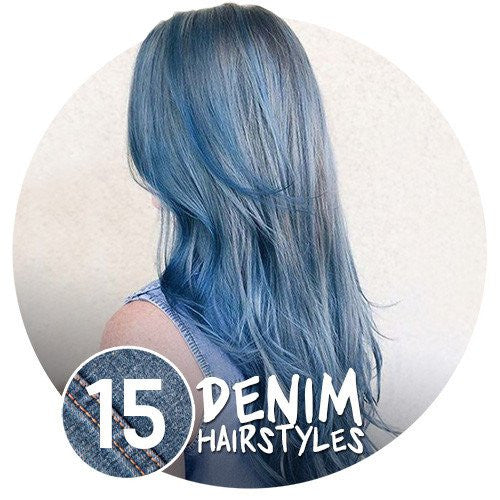 👖 15 Denim HAIRstyles! 💇‍