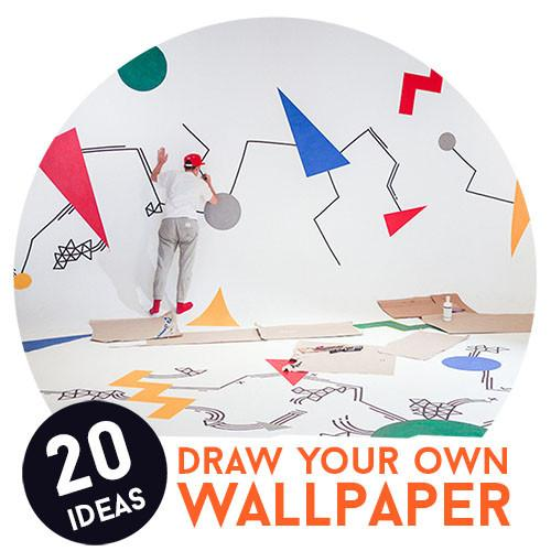 20 Ideas to Draw Your Own Wallpaper
