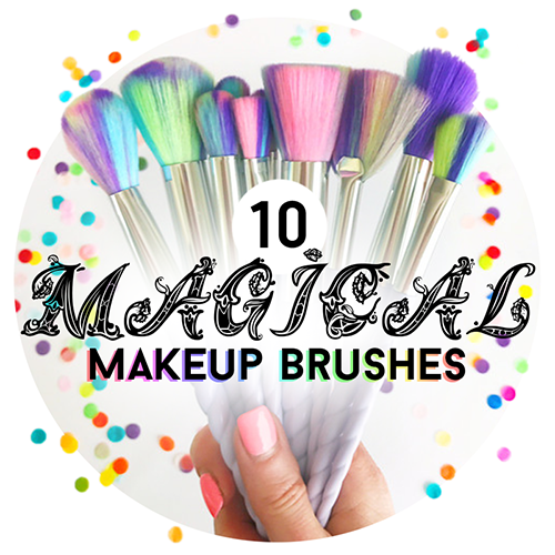 💖 10 Magical Makeup Brushes 🐠