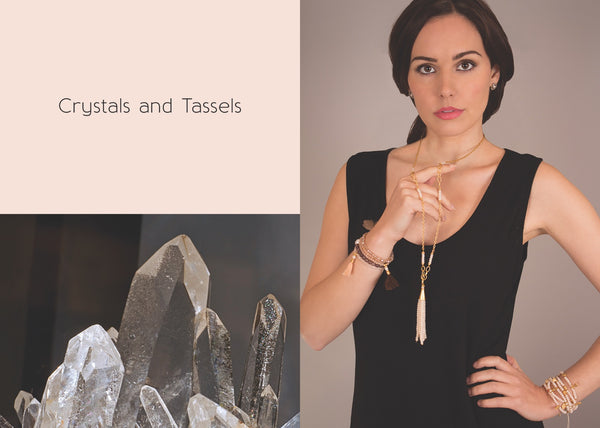 crystals and tassels treaty jewellery ss16 trend