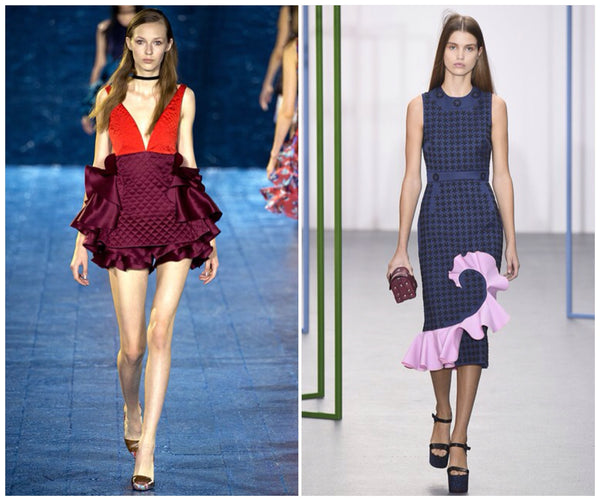 mary holly fulton ruffle detailing trend