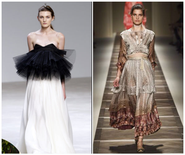 giambattista valli and etro in ruffles
