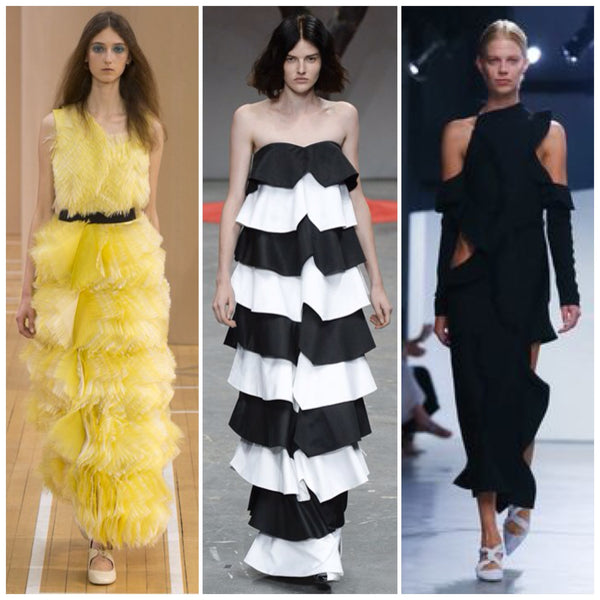 strinking in ruffle trend ss16 catwalks
