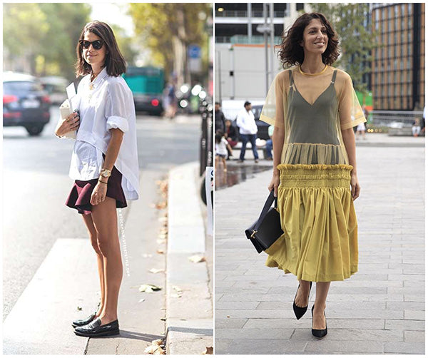 ruffle and frill detailing trend street style