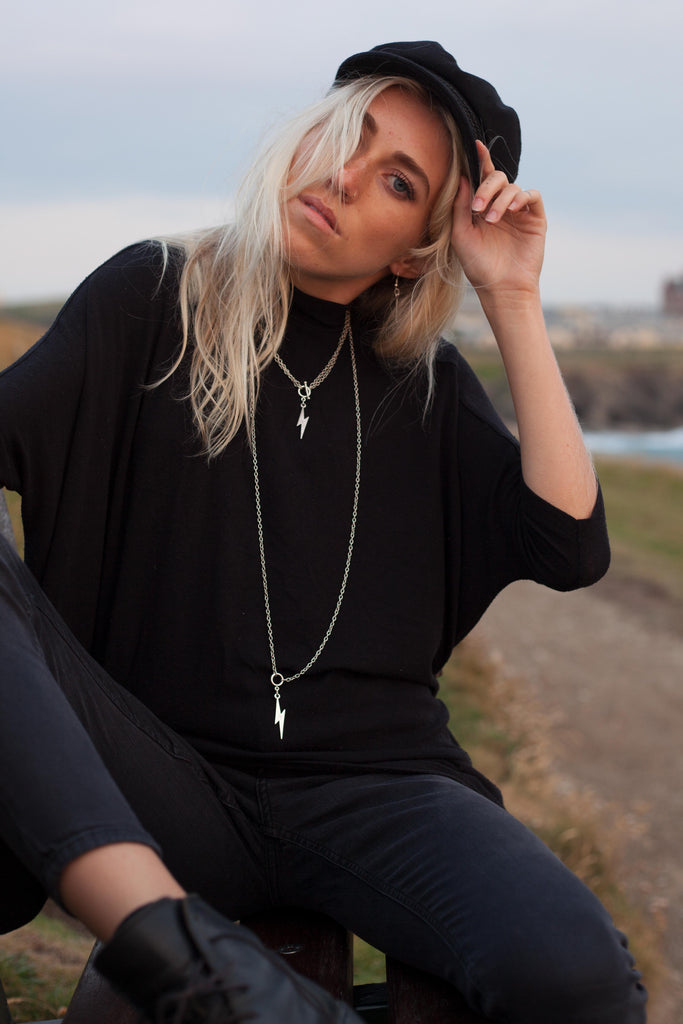 Ziggy Stardust Necklace Boho Walks Vibe