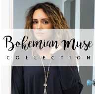 bohemian muse collection button treaty corinne