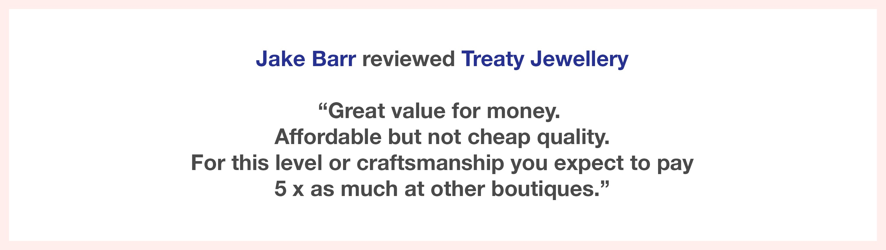 Review on treaty silver fashion jewellery 925 silver